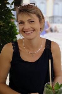 Portrait d'Hélène Nicolle Géhant, socio-esthéticienne