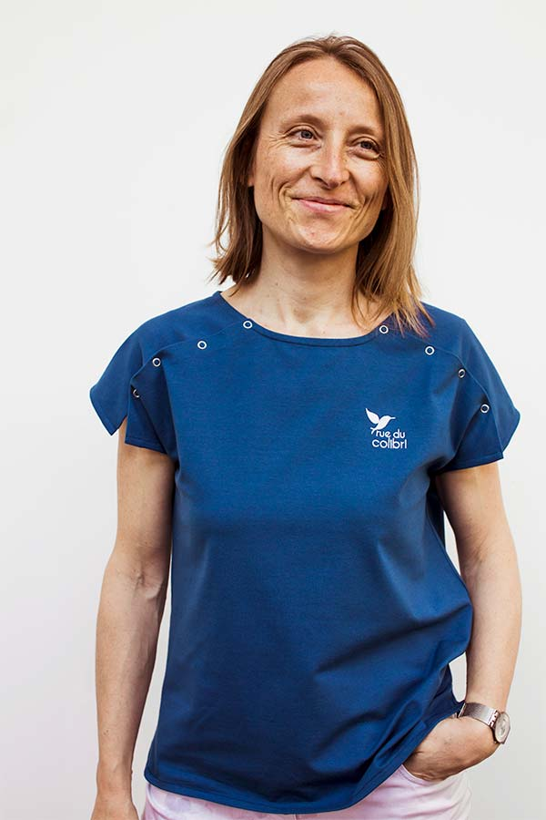 La version T-shirt du vêtement pour femme avec un PAC®